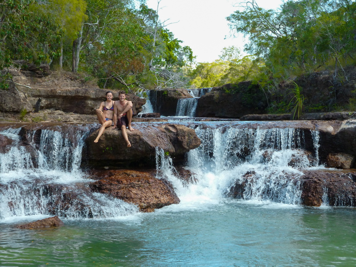 Court and Drew at Twin Falls QLD