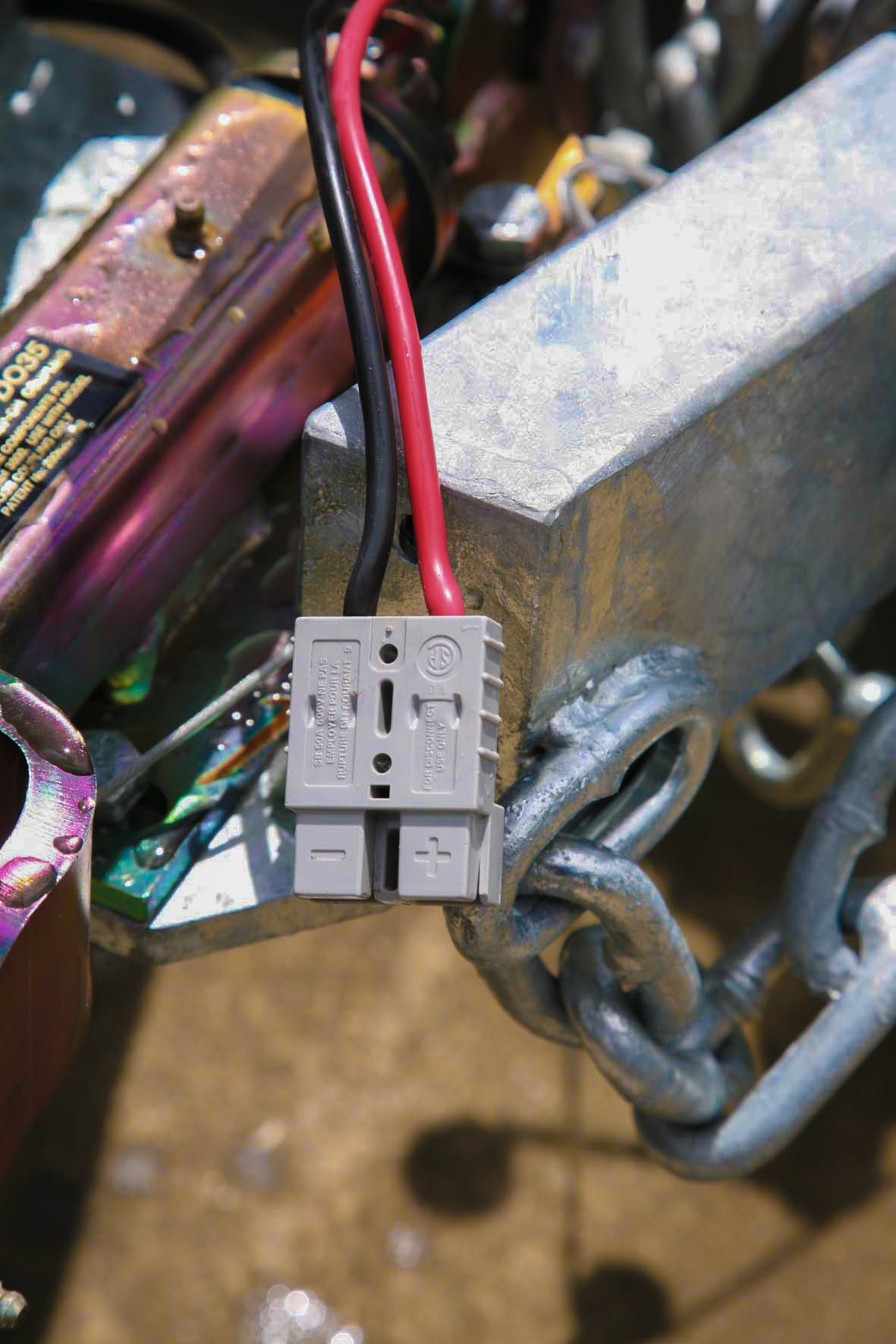 Caravan Electrical Systems Without A Hitch House Wiring Terminology Along With The Basic 12v System Used In Kingswood Viscount Era Long Gone Is Battery That Was Charged Only By Tow Vehicles Alternator