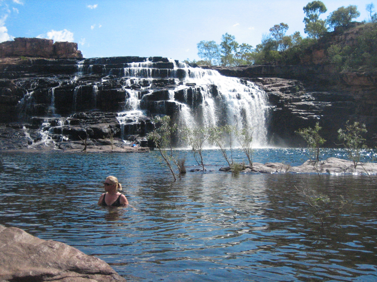 Gorgeous swimming holes throught the Kimberley-1
