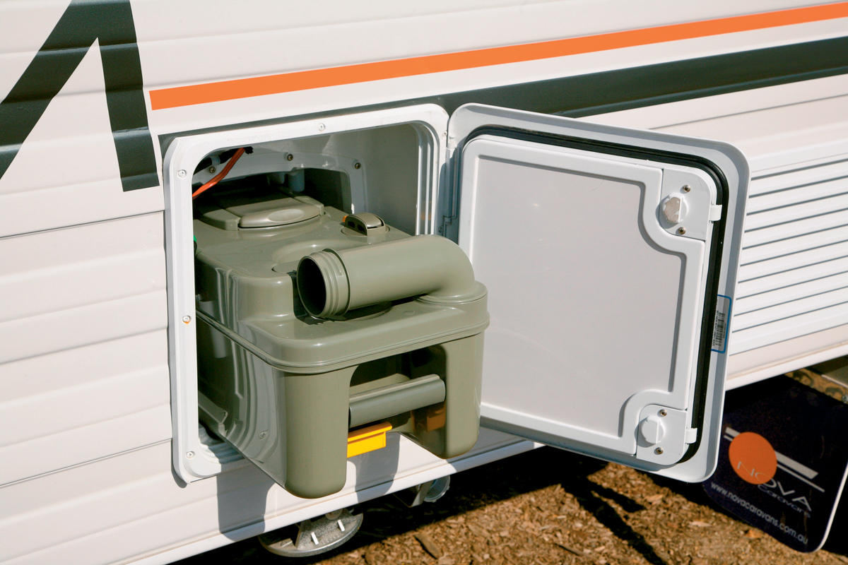 toilet cassettes are now a common feature in many modern vans