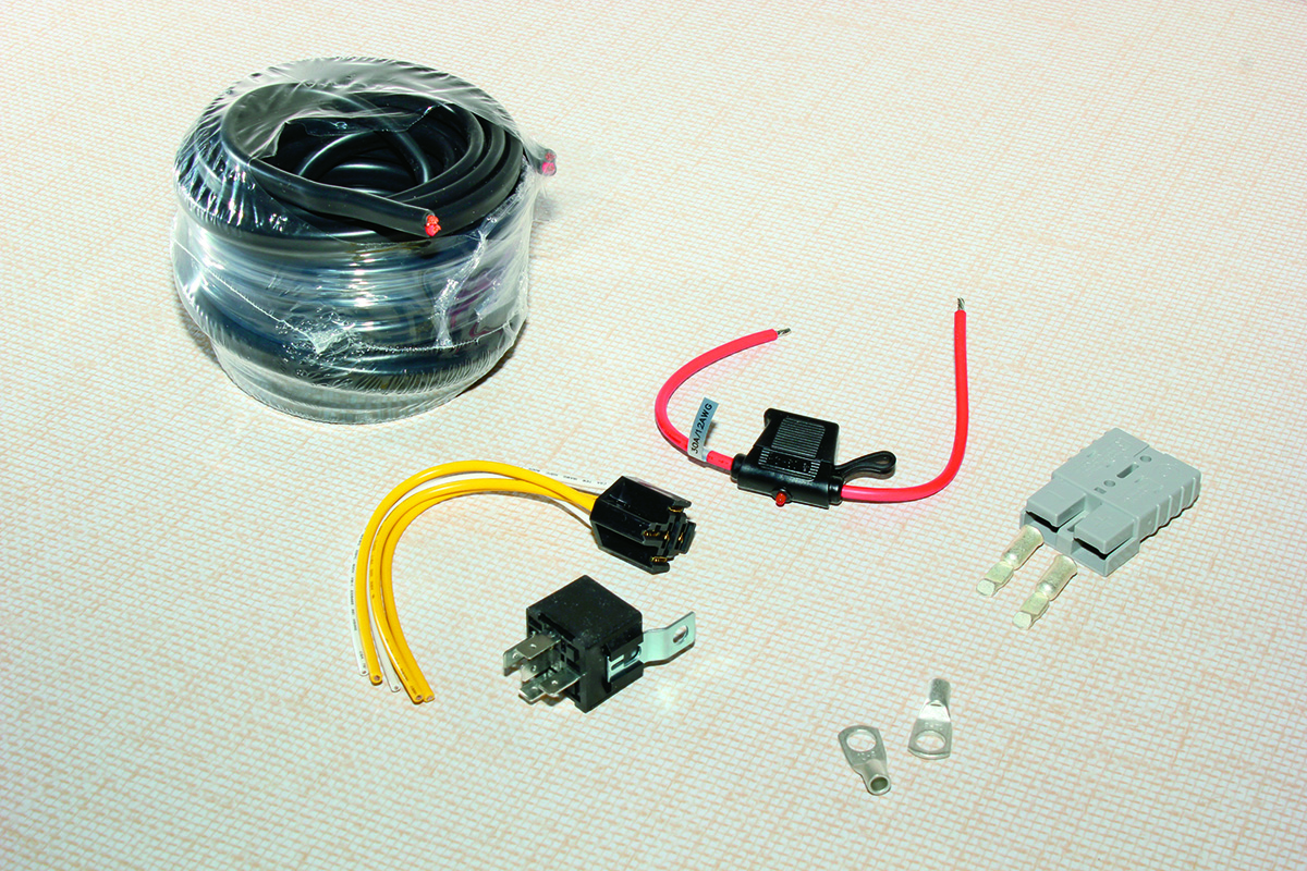 How To Fit An Anderson Plug Without A Hitch Vw Transporter Wiring Diagram Manual Step 1