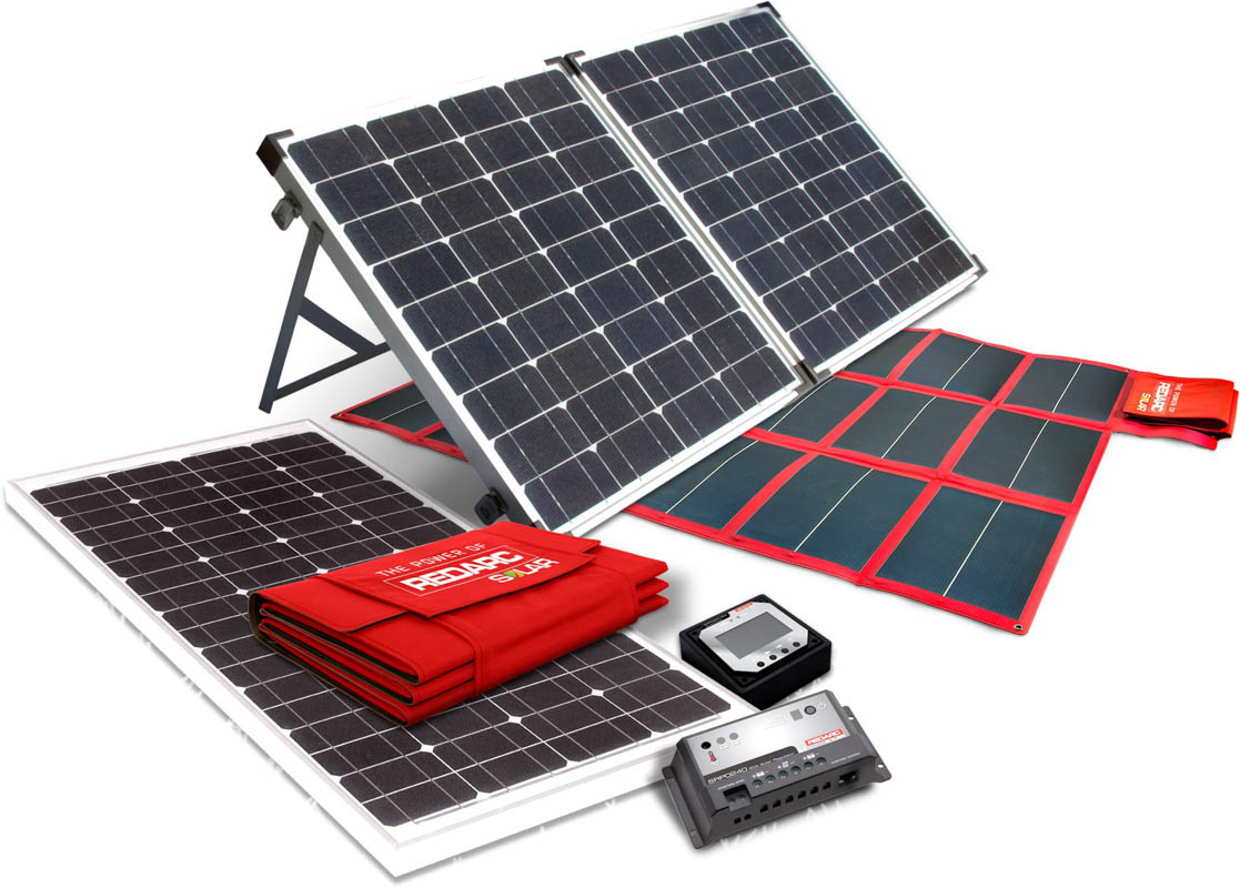 Redarc solar panels - all