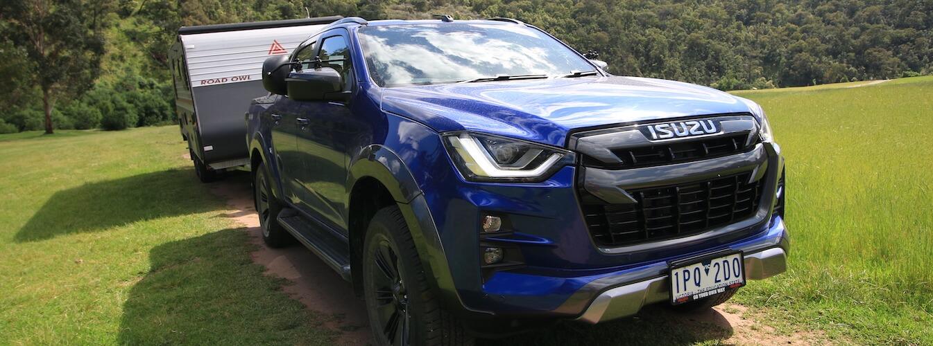 Isuzu d-max review towing